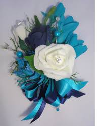 turquoise corsage pin on corsage for weddings silk corsage the floral touch uk