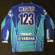signed motocross jersey racing other autographs original men