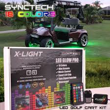 x light color changing for ezgo txt rxv golf cart neon led accent