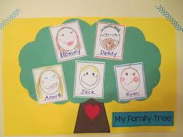pre k thanksgiving yay for prek family trees in prek