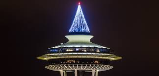 seattle christmas lights and long exposures equal motion