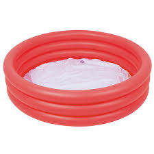 urban trading online bestway 3 ringed inflatable red swimming