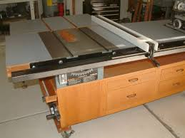 table saw router combo table saw and router work center with t square fence homemadetools net