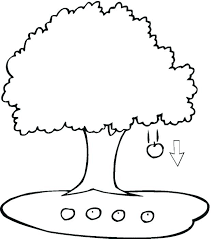 blank tree coloring page smartgoalsbook info
