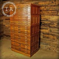 flat file cabinet wood industrial wooden hamilton flat file blueprint cabinet industrial