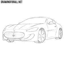 porsche cartoon drawing how to draw a porsche boxster drawingforall net