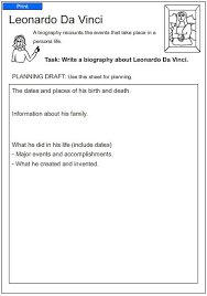 leonardo da vinci biography for elementary students leonardo da vinci english skills online interactive activity lessons
