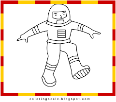 coloring pages printable for kids astronaut coloring pages for kids