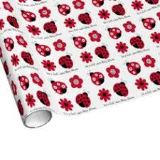 ladybug wrapping paper ladybug personalized wrapping paper personalized wrapping paper