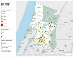 Maps Testing Scores On The Map The Atlas Of Student Homelessness In New York City
