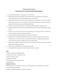 Warehouse Worker Job Description For Resume Extraordinary Sample Resume Factory Worker Job On General
