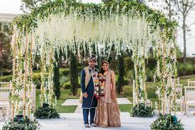 wedding arches orlando fl orlando fl indian wedding by wandering woo photography maharani