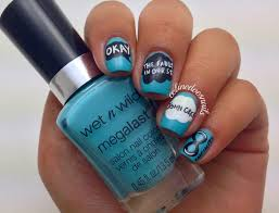 nail art style the fault in our stars nail art