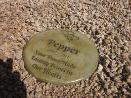 pet memorial garden stones memories to stone