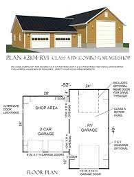 rv garage plan 2104 rv1 by behm designrv pool house plans detached