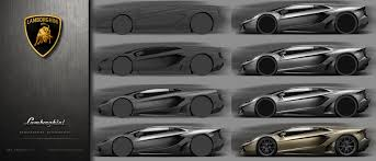 Artstation Lamborghini Concept Side Sketch Render Wip Yasid