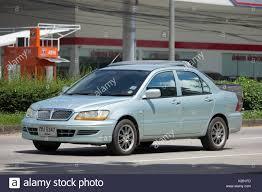 mitsubishi thailand chiang mai thailand auguest 22 2017 private car mitsubishi