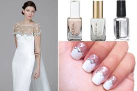 diy nail art a modern french manicure inspired by marchesa