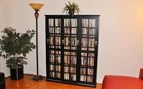 Cd Storage Cabinet With Doors dvd cd storage cabinet casanovainterior