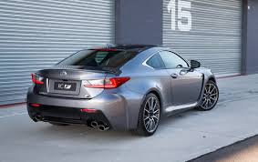 lexus rcf lexus gs f u0026 rc f updates add adaptive suspension new colour