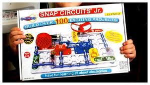 Snap Circuits Jr Review Youtube