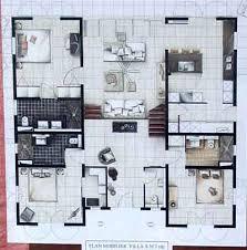 plan maison 騁age 4 chambres plan maison 4 chambres 騁age 56 images la maison moderne