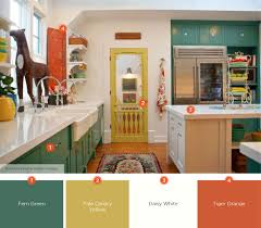 kitchen color ideas yellow 20 enticing kitchen color schemes shutterfly