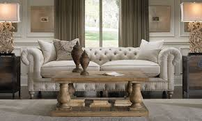 Chesterfield Sofa In Living Room by Francis Drake Chesterfield White Sofa Haynes Furniture