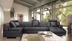 grand canap en u salon en u cuir waaqeffannaa org design d intérieur et décoration