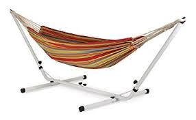 amazon com stansport brazilian hammock stand combo sports u0026 outdoors