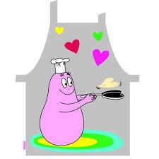 tablier de cuisine pour enfants tablier de cuisine barbapapa pour enfant achat vente tablier