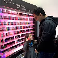 daddy and daughter date night at images luxury nail lounge oc