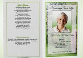 memorial program ideas funeral brochures 35 funeral program brochure templates free word