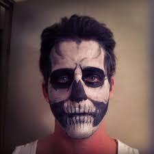 skull makeup by luciuspoe