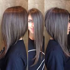 bob hairstyles that are shorter in the front 25 best one length images on hairstyles braids and