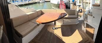 boat tables for cockpit sea ray l590 fly 2016 sea ray powered by boattest com 32