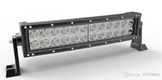 Emergency Light Bars For Trucks 13 5 Inch Curved 72w Led Work Light Bar Off Road Driving Lamp