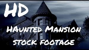 halloween stock footage creepy haunted mansion free stock footage youtube
