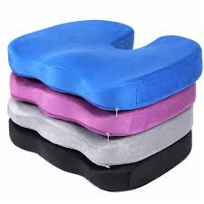 Orthopaedic Seat Cushion Orthopedic Seat Cushion U Shape Memory Foam Buttocks Shaping Waist