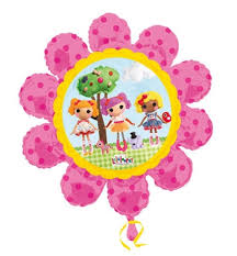 helium filled balloons delivered lalaloopsy balloon gift lalaloopsy doll flower shape balloon