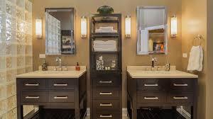 Bathroom Linen Shelves Gorgeous 20 Clever Designs Of Bathroom Linen Cabinets Home Design