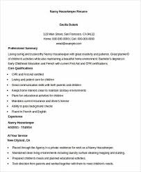 Example Of Housekeeping Resume by What You Have To Know When Writing Your Housekeeper Resume
