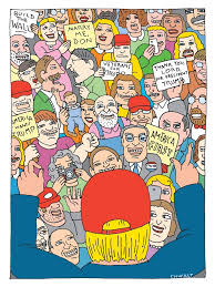sweet booths all characters welcome george saunders goes to rallies the new yorker