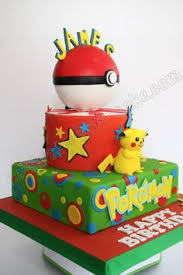 My Pokemon Pikachu Cake Diy I Baked Two Round Cakes To Make The