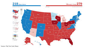 Red And Blue State Map by Tech Fears The Unknown With A President Trump New Equipment Digest