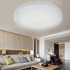 Deckenleuchte Schlafzimmer Rund Vingo 16w Led Deckenbeleuchtung Deckenleuchte Rund Deckenlampe