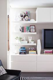 Living Room Shelving Units by Living Room Wall Unit With Side Panels Shelves Tv Compartment