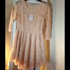 floral lace mesh dress