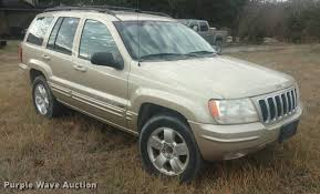 cherokee jeep 2001 2001 jeep grand cherokee suv item df9835 wednesday decem