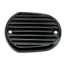 lowbrow customs finned master cylinder cover black 2004 2015